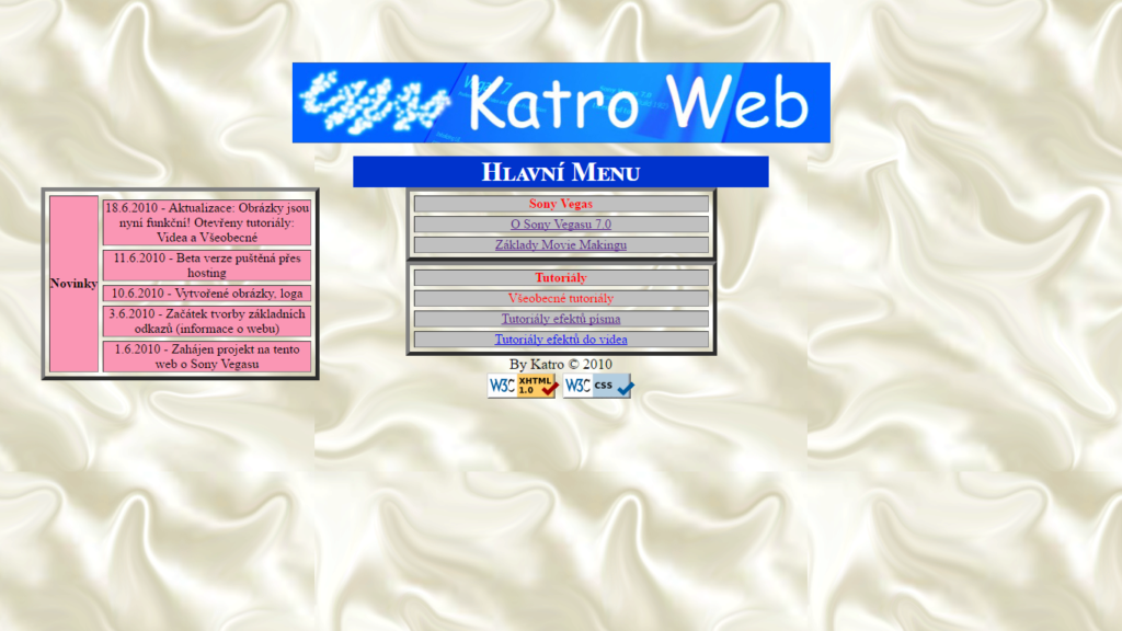 moje prvni webova stranka