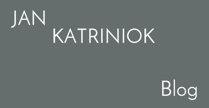 jan katriniok blog, příspěvek